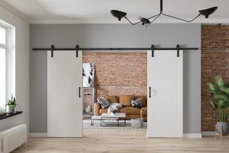 Drzwi przesuwne – aranżacje oszczędzające miejsce w domu