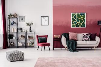 Te kolory będą modne we wnętrzach w 2019 roku. Poznaj trendy Pantone