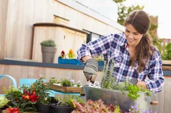 Ogród wertykalny na tarasie i balkonie. Sposób na własne zioła i warzywa