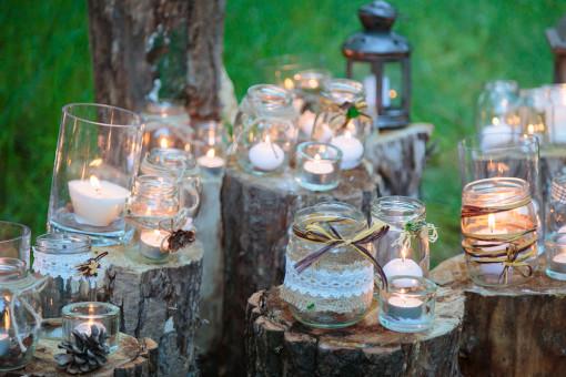 7 doskonałych pomysłów na dodatki DIY: świece, lampiony, świeczniki