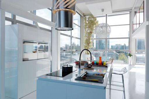 Okapy kuchenne: sprzęt dla finalistów Master Chefa i wielbicieli pięknych kształtów