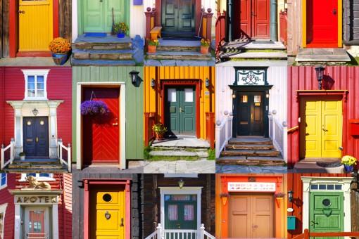 Doortraits, czyli podglądamy aranżacje wejścia do domu. Niezwykła moda na Instagramie