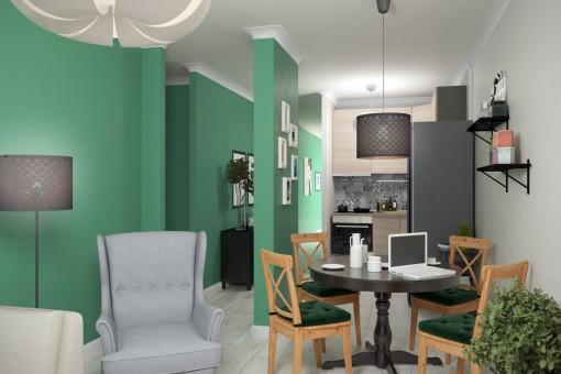 Jak funkcjonalnie urządzić małe mieszkanie i optycznie je powiększyć?