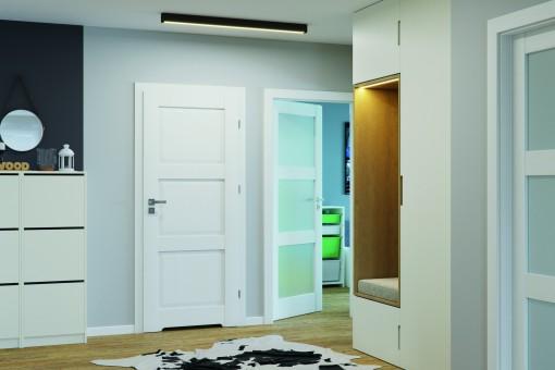 Czy wszystkie drzwi w mieszkaniu muszą być takie same?