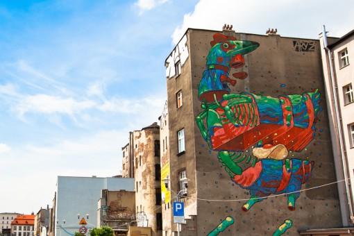 Są kolorowe i robią niesamowite wrażenie! Zobacz najciekawsze murale w Polsce