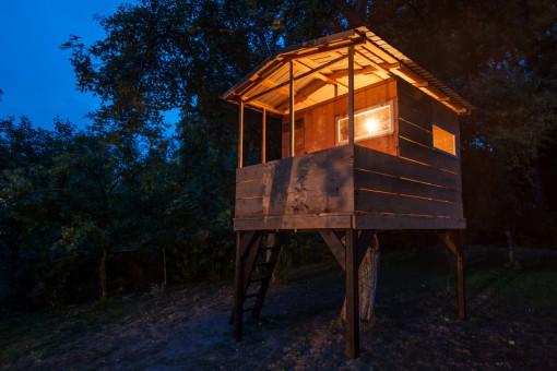 Budowa domku na drzewie, czyli jak spełnić dziecięce marzenia