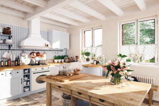 Kuchnia retro – o czym pamiętać, urządzając kuchnię w starym stylu?