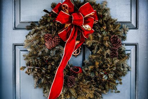 Robimy wieńce świąteczne na drzwi - zainspiruj się!