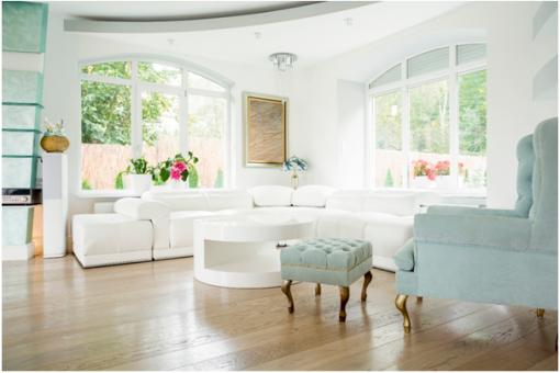Mieszkanie w stylu glamour - kilka sposobów na aranżację wnętrz