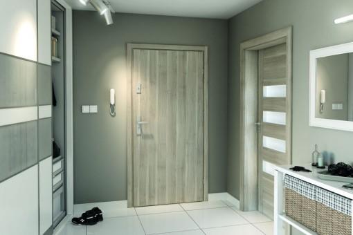 Drzwi zewnętrzne do mieszkania w bloku. Jak wybrać dobre drzwi dźwiękoszczelne?