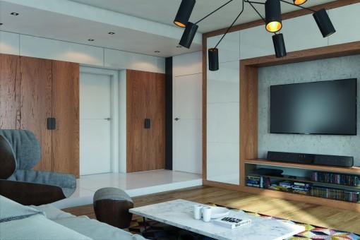 Drewniane akcenty w nowoczesnej odsłonie - jak modnie urządzić wnętrza w drewnie?