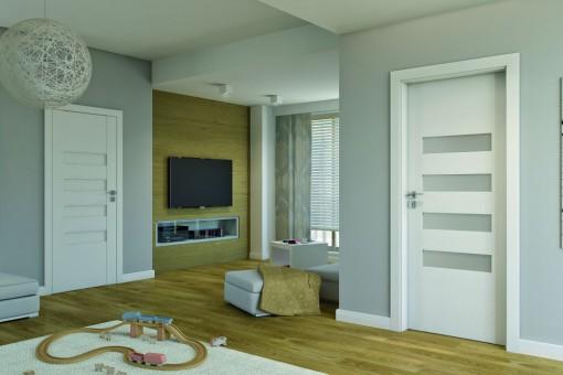 Obramowanie drzwi - wybór i montaż listw wykończeniowych na ościeżnice