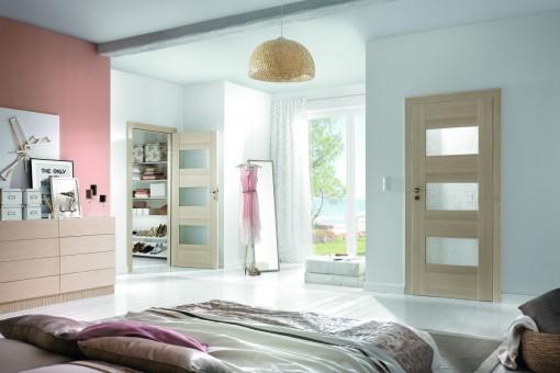 Drzwi do sypialni - wybór nieoczywisty