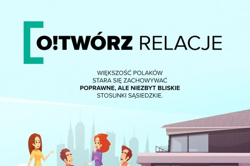 O!Twórz relacje – jak wyglądają relacje sąsiedzkie Polaków?