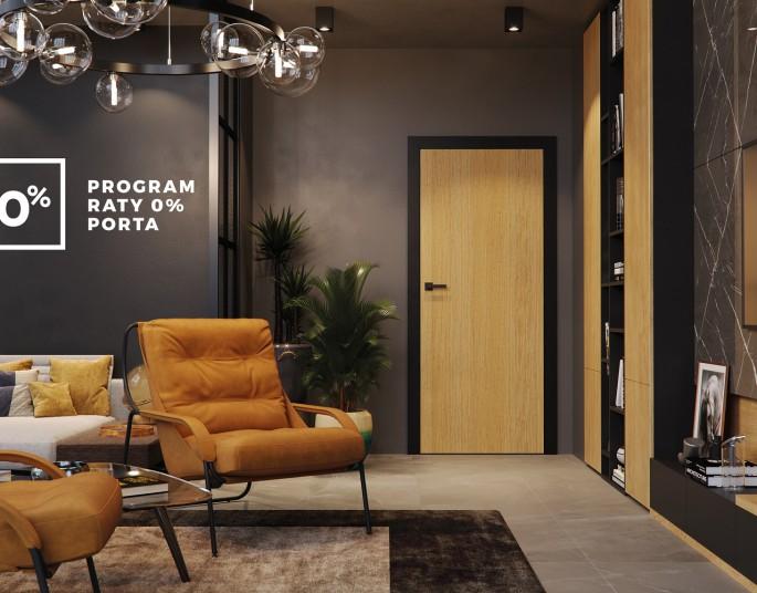 Program Raty 0% – atrakcyjne raty na modne drzwi PORTA
