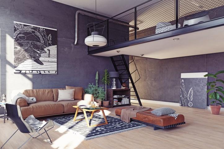 Mieszkanie w stylu loftowym, czyli wkręć się w pofabryczne klimaty!