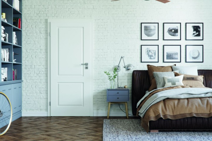 Ściana za łóżkiem w sypialni – proste pomysły na jej aranżację