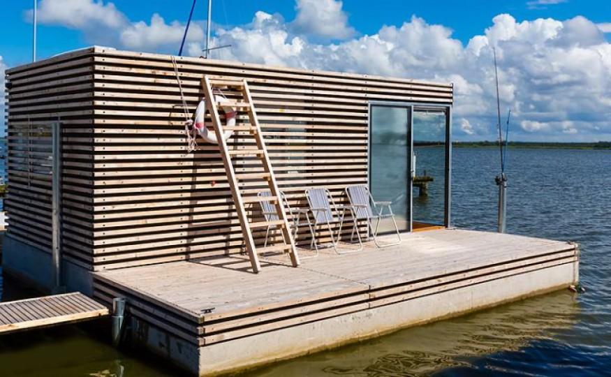 Mieszkanie w domu na wodzie
