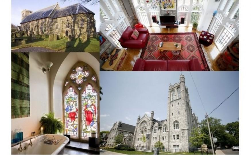 Mieszkanie w kościele