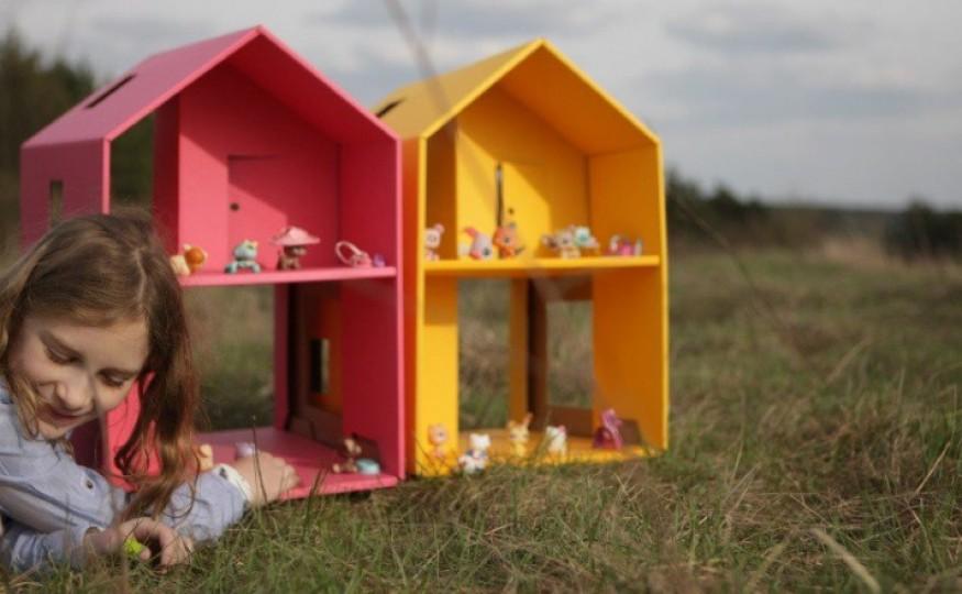 Dom z kartonu