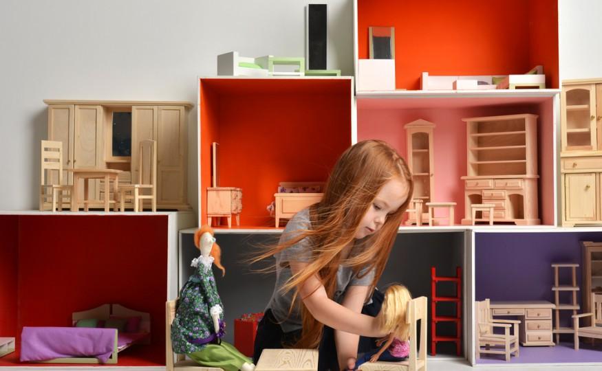 Jak zrobić domek dla lalek?