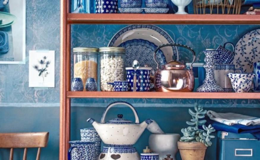 Jak urządzić kuchnię w kolorze blue