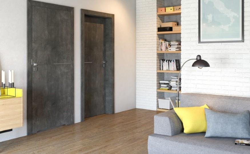 Beton na drzwiach
