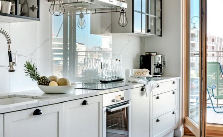 Aranżacje wnętrz: kuchnia otwarta na salon