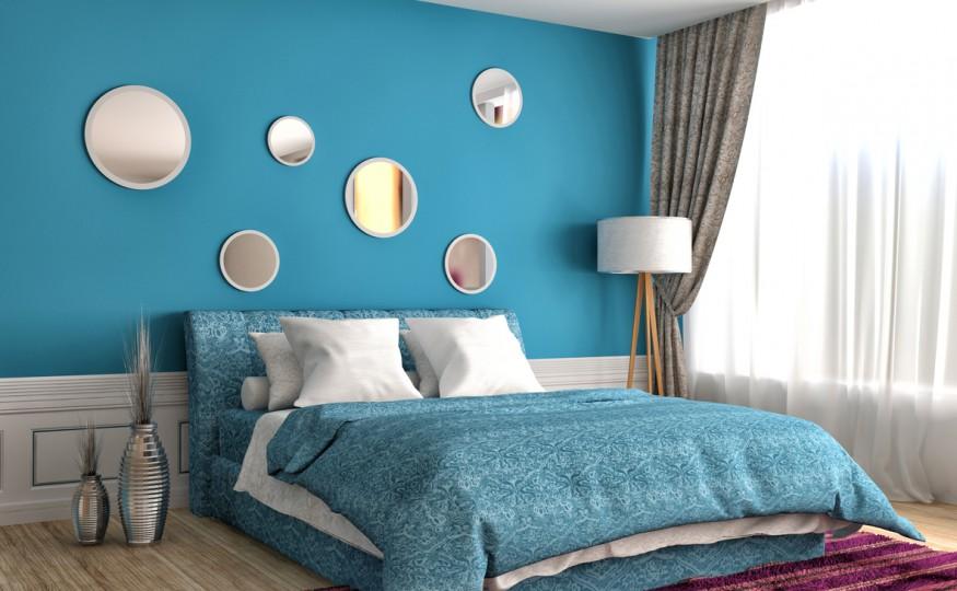 Funkcjonalna i praktyczna sypialnia
