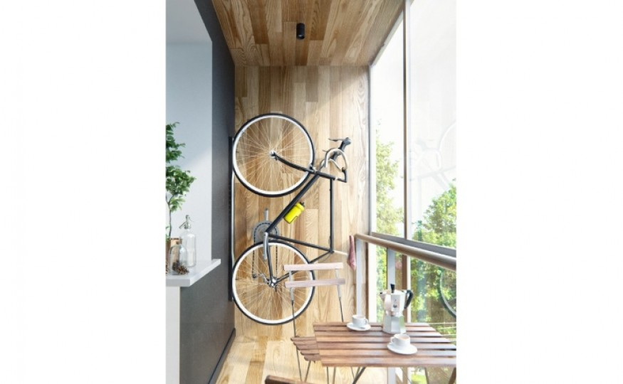 Przechowywanie roweru na balkonie