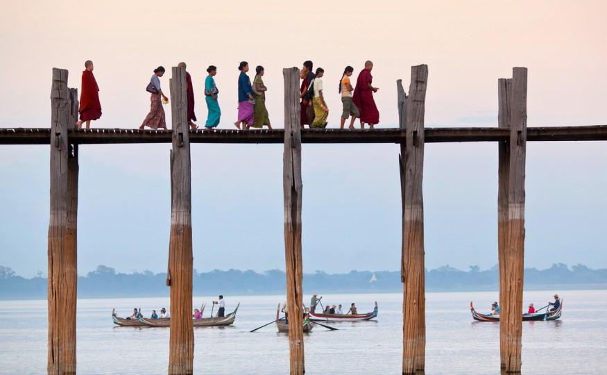 Most U Bein, Birma