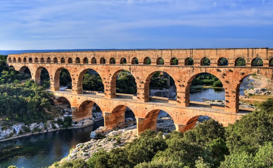 Pont du Gard, Francja