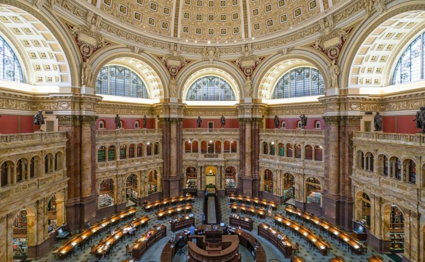 Biblioteka Kongresu Stanów Zjednoczonych, Waszyngton, Stany Zjednoczone