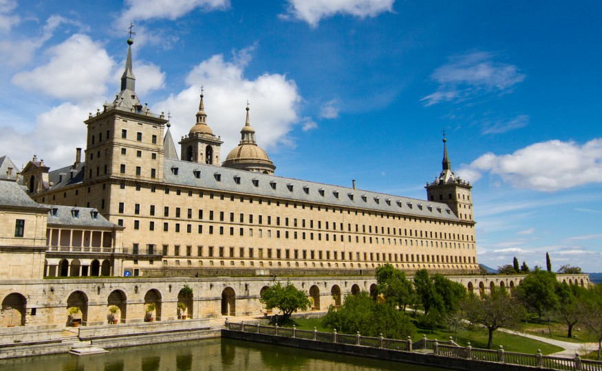 Biblioteka Escorial, Madryt, Hiszpania