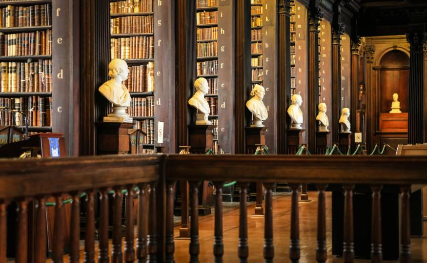Biblioteka Trinity College w Dublinie, Irlandia