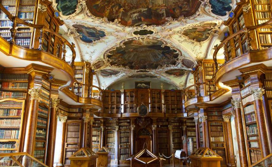 Abbey Library St. Gallen, Szwajcaria
