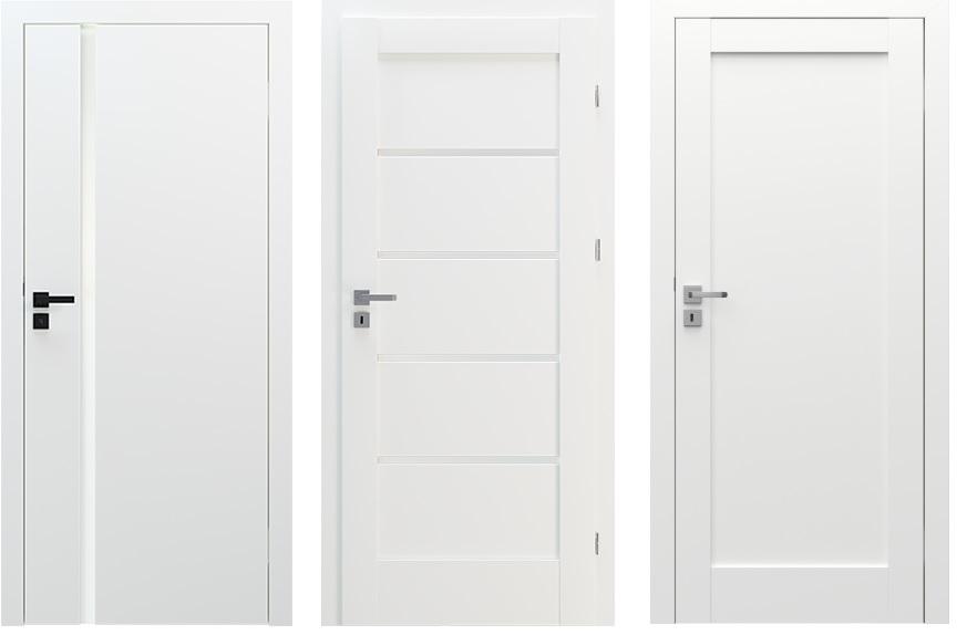 Porta białe drzwi
