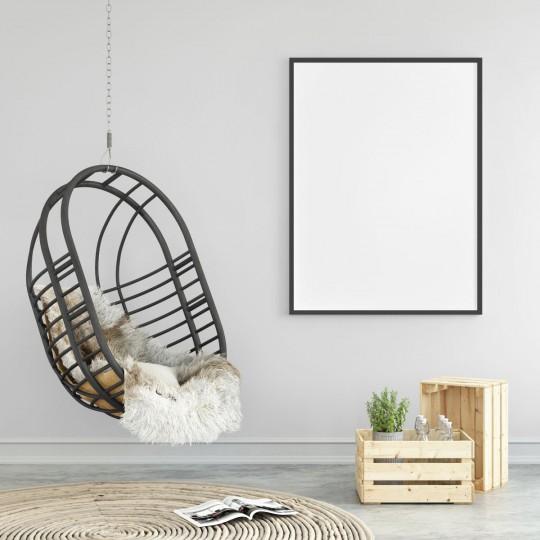 Fotel wiszący - mebel zawieszany do sufitu