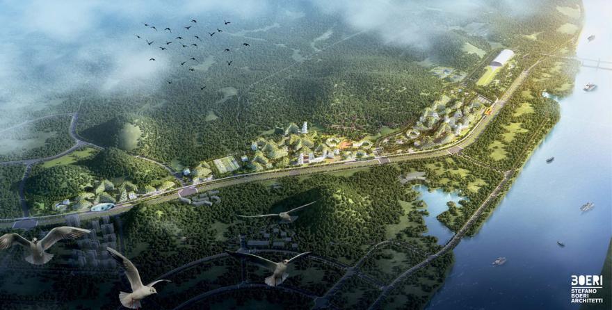 Najbardziej ekologiczne miasto świata. Drzewa są wszędzie, nawet na budynkach