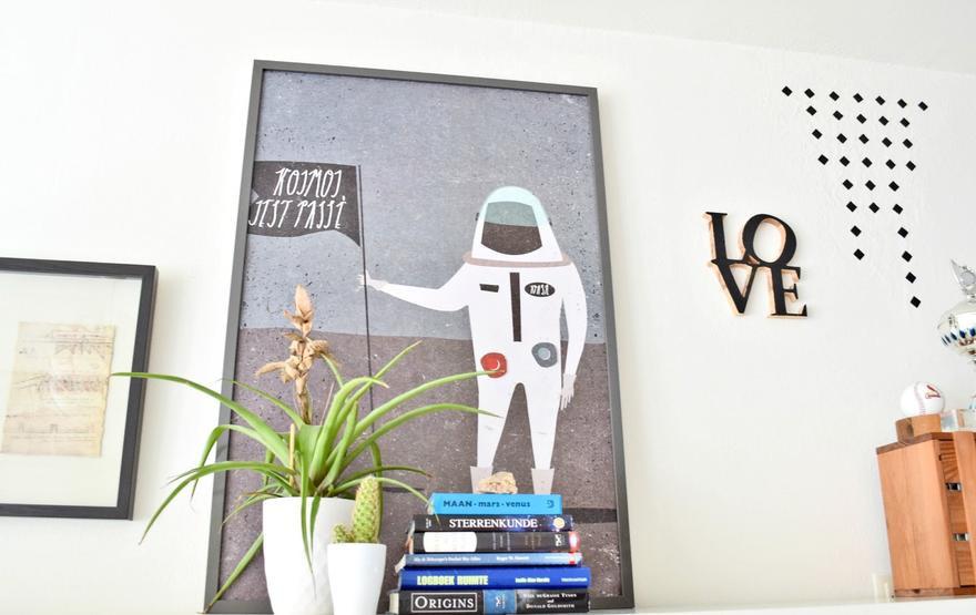 Pomysł na dekorację ściany – oryginalny plakat