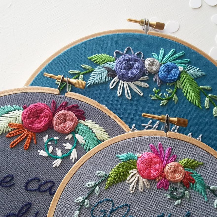 Oryginalne dekoracje, czyli… modny haft na ścianach. Instagramowy zawrót głowy