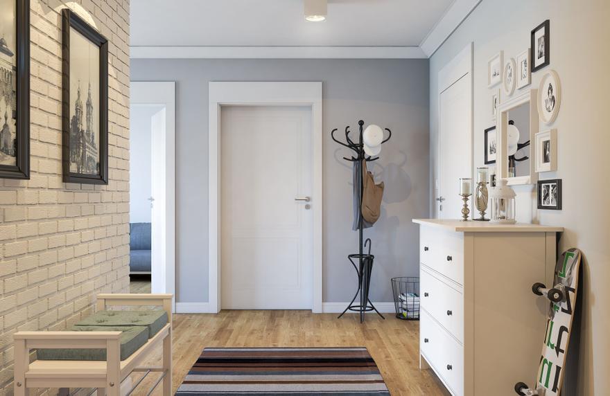 Aranżacje drzwi wewnętrznych – kolorowa paleta możliwości