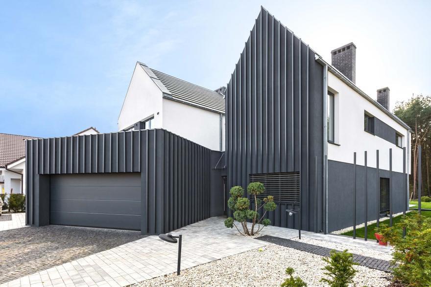 Nowoczesny wystrój domu: Fence House