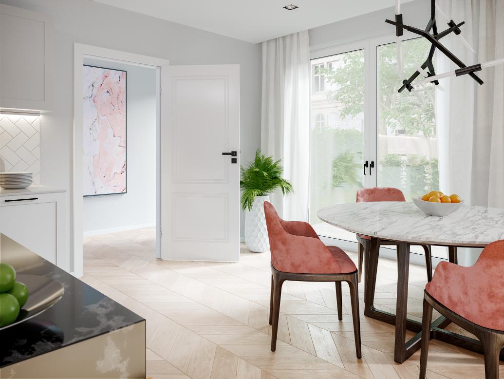 Drzwi kuchenne - funkcjonalne rozwiązanie czy zbędny dodatek?