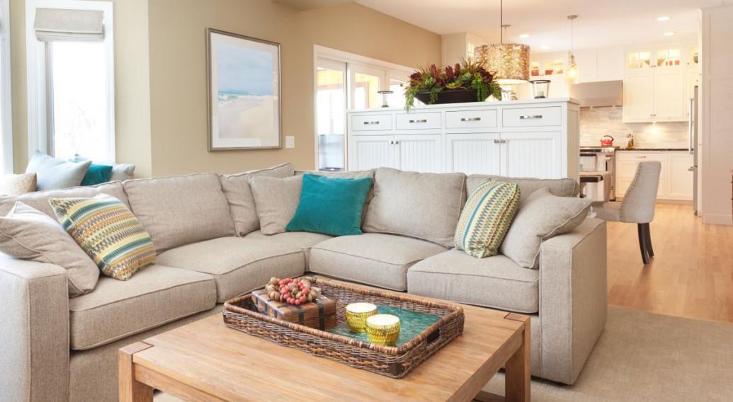 W jaki sposób oddzielić salon od sypialni i kuchni bez ściany?