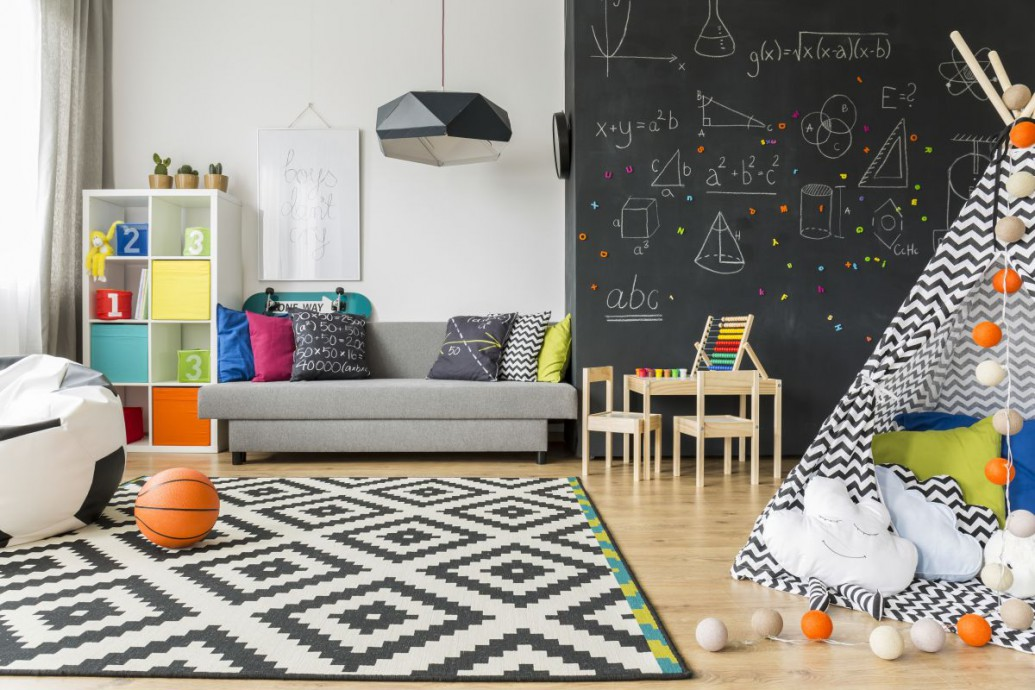 Farba magnetyczna - pomysł na praktyczną i dekoracyjną ścianę