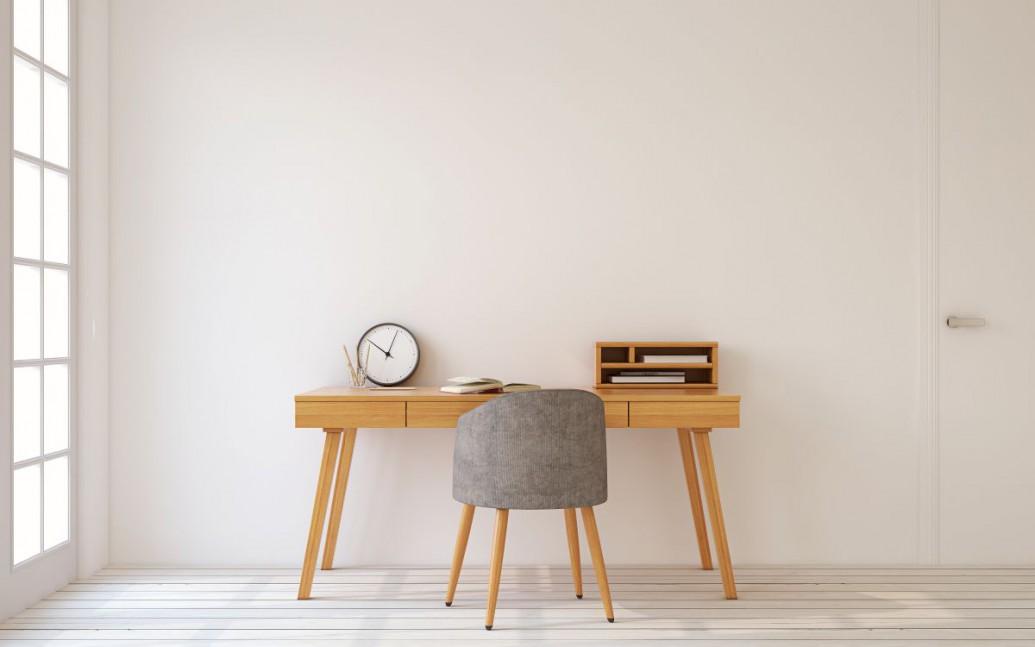 Minimalistyczny kącik do pracy w Twoim domu - zainspiruj się!