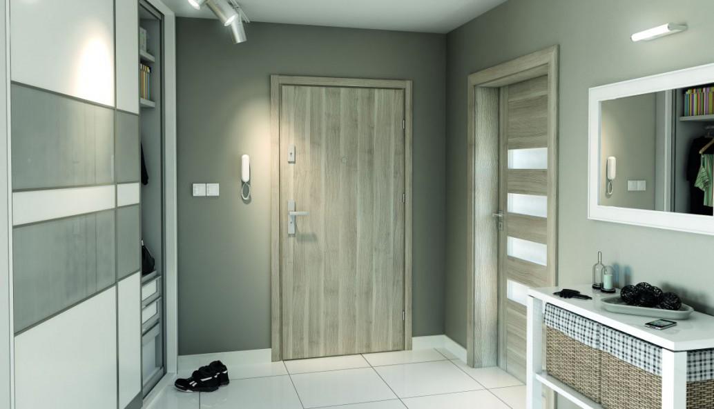 Inteligentny Drzwi zewnętrzne do mieszkania w bloku. Jak wybrać dobre drzwi... OS66