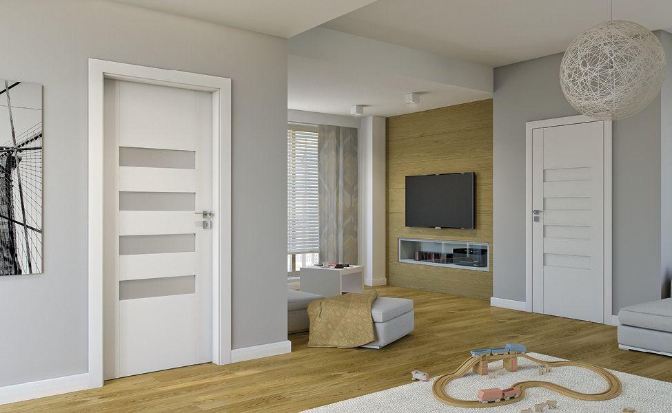 Drzwi w mieszkaniu - jak stworzyć idealna harmonię kolorów?