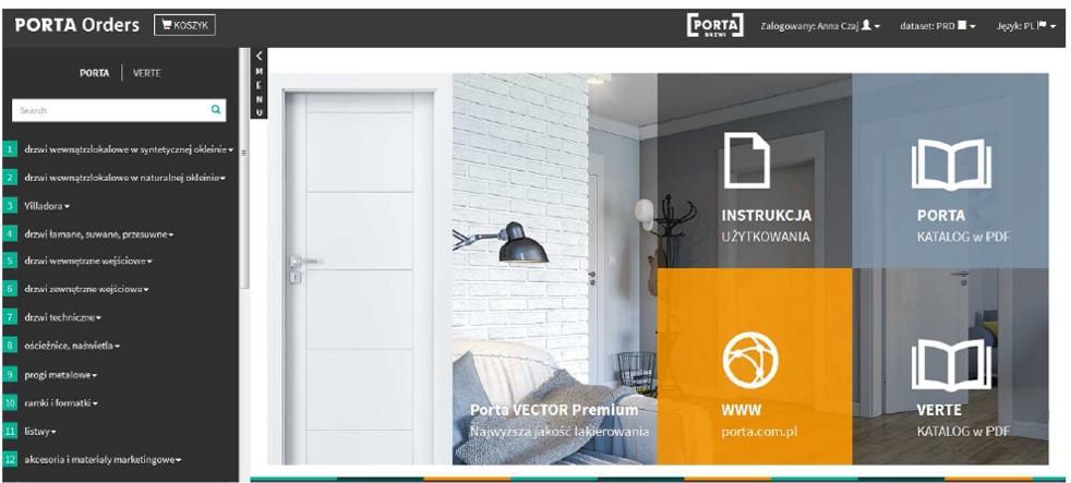 Orders Online - nowy system zamówień Porta!